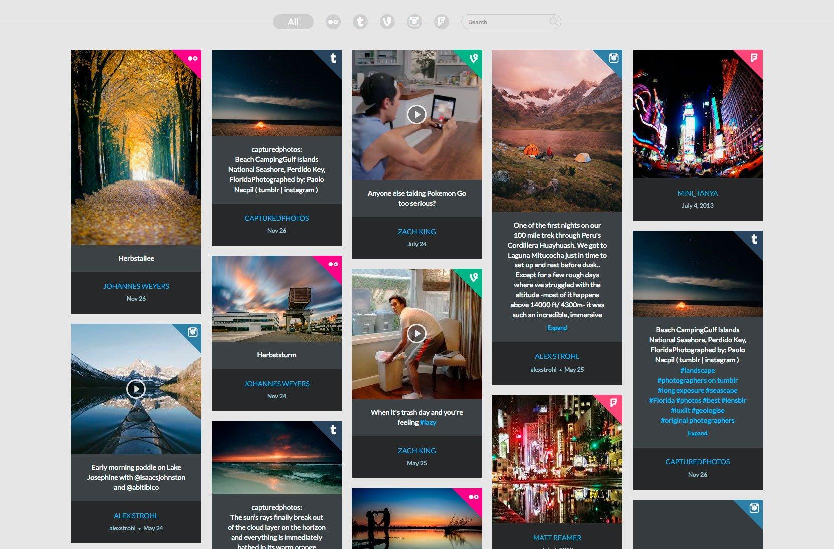 Cómo mostrar las redes sociales en una web