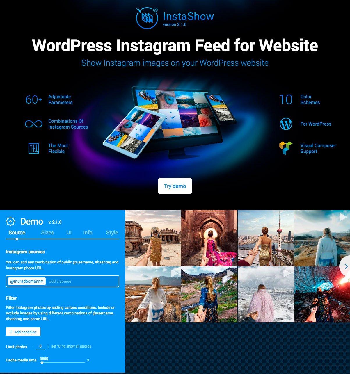 Plugin para poner instagram en tu web