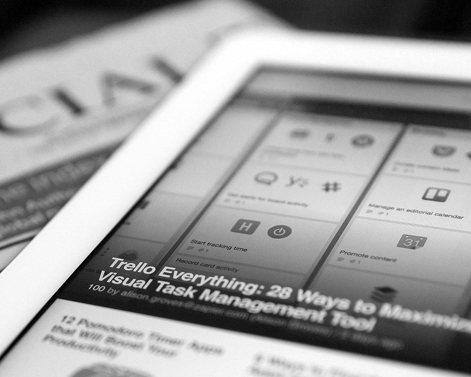 Servicios Publicaciones iPad
