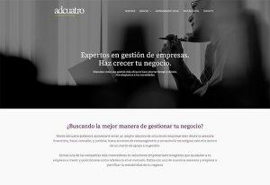 Diseño Web wordpress asesoría fiscal y financiera