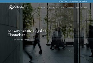 Diseño Web wordpress despacho abogados