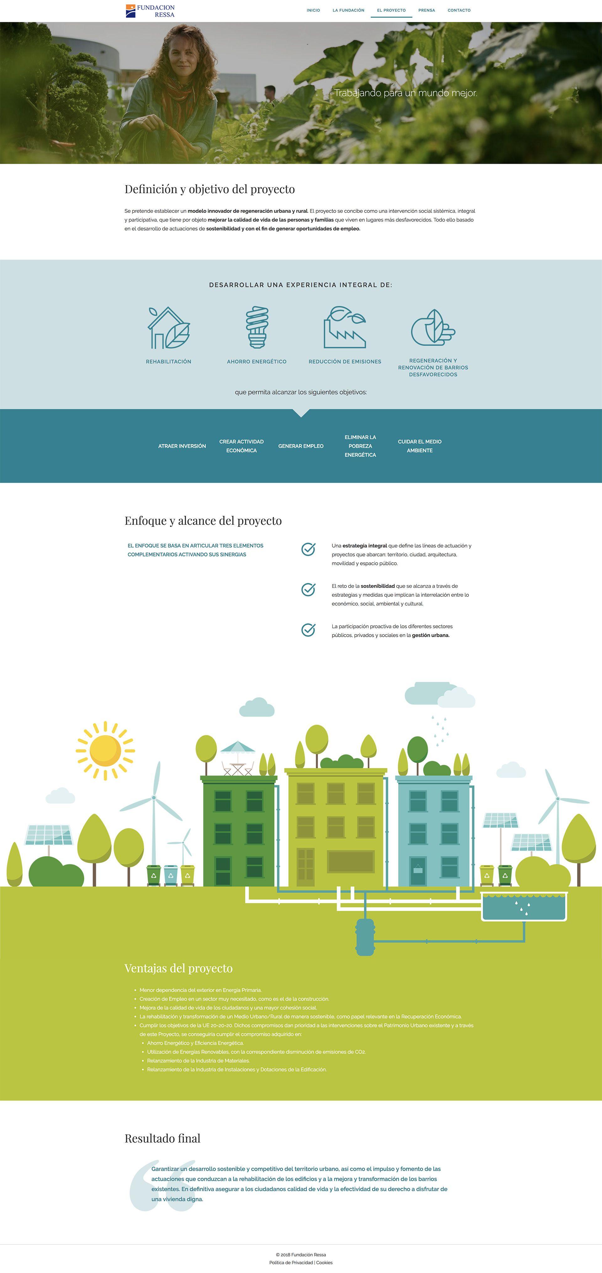 Diseño web para organizaciones