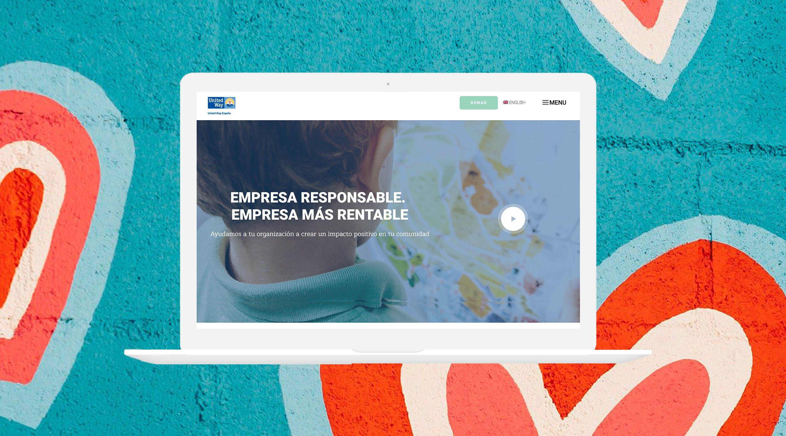 Diseño de páginas web para ONG y Fundaciones