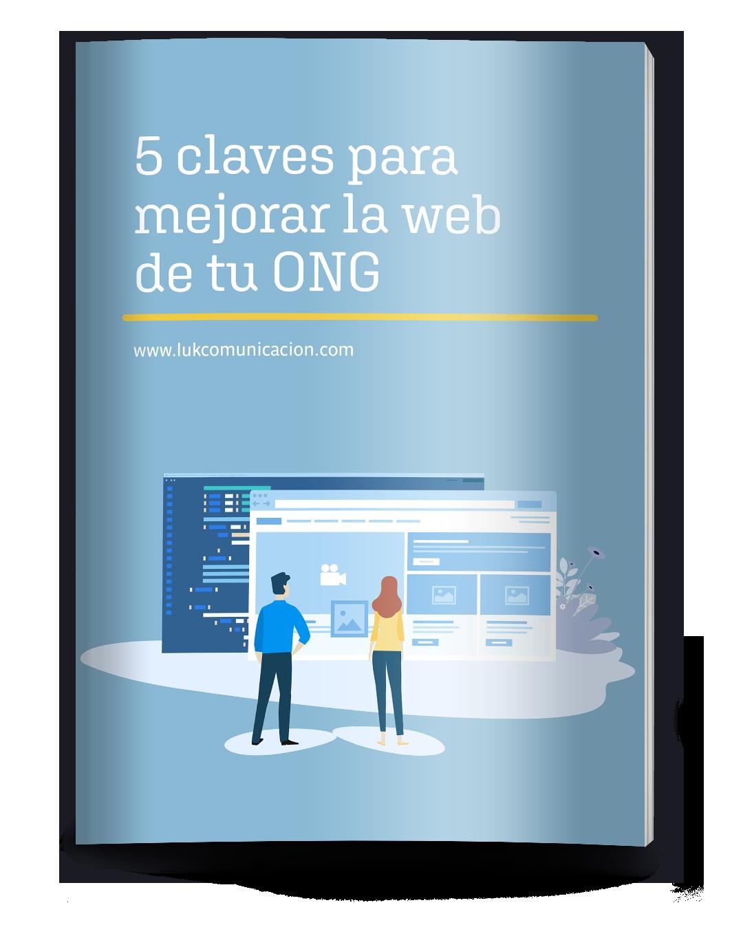 ebook: 5 claves para mejorar la web tu ONG